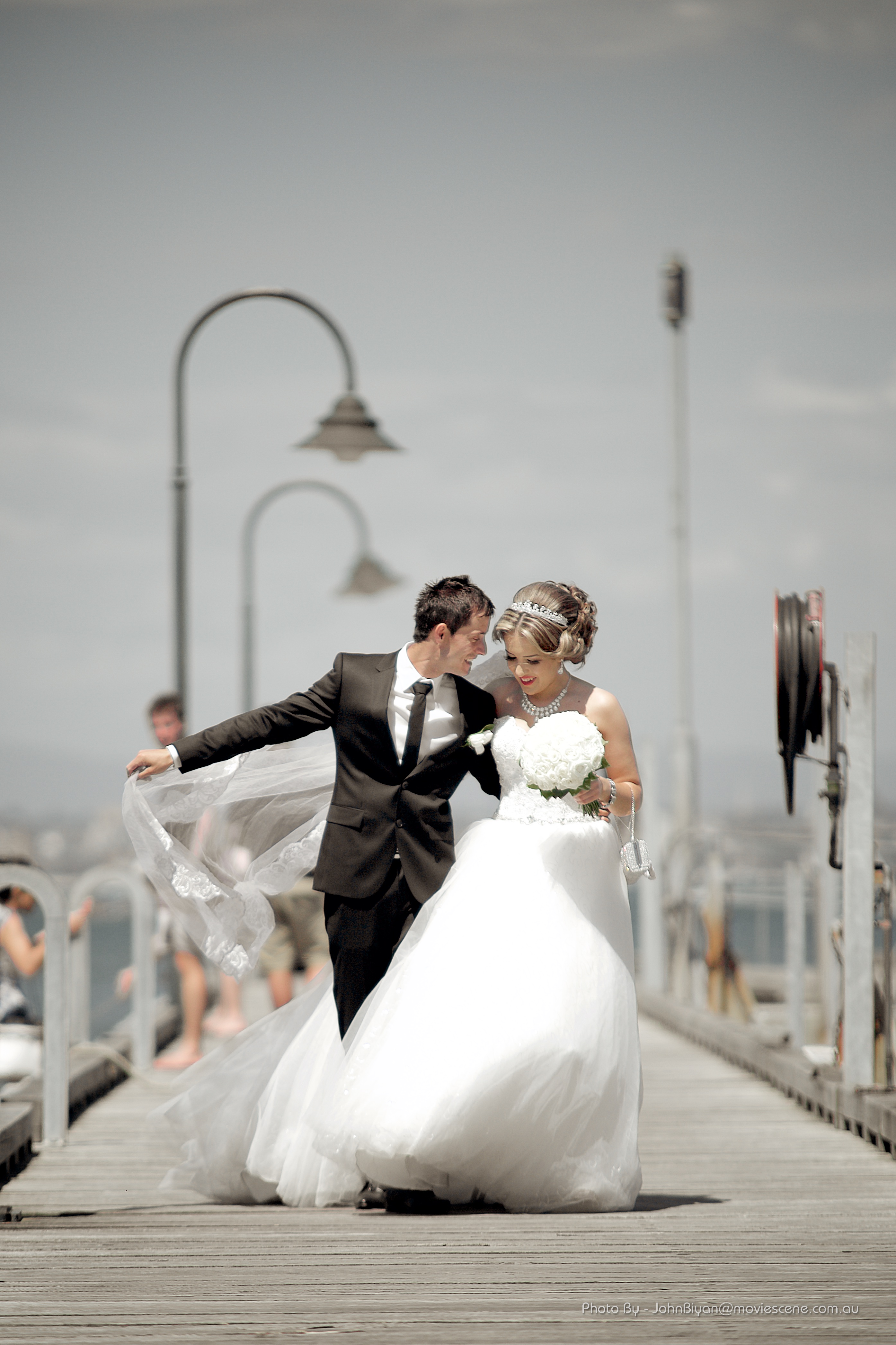 Wedding photo by John Biyan at Williamstown Melbourne Wedding Videography and Photography