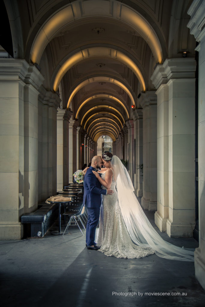 Melbourne Wedding Videography and Photography GPO Wide shot